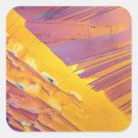 Oxalic Acid Crystals Sticker