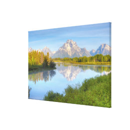 Oxbow Bend Canvas Print