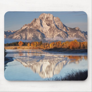 Oxbow Bend, Grand Tetons, in the morning light... Mouse Pads