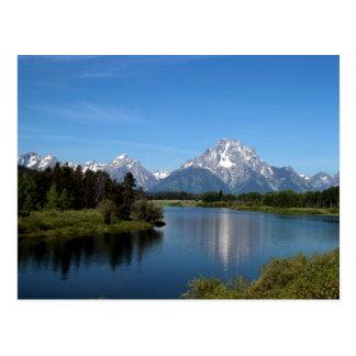 Oxbow Bend Snake River Grand Teton National Park Postcard
