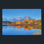 """Oxbow Bend Sunrise Placemat<br><div class=""""desc"""">Photo taken during FALL at Grand Teton National Park</div>"""