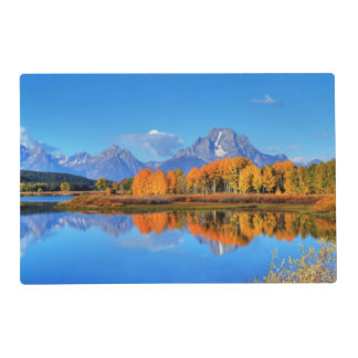 Oxbow Bend Sunrise Placemat