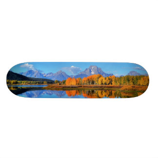 Oxbow Bend Sunrise Skateboard