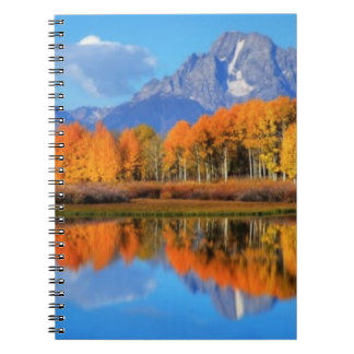 Oxbow Bend Sunrise Spiral Notebook