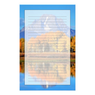 Oxbow Bend Sunrise Stationery