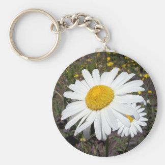 Oxeye Daisy 1 Key Chain