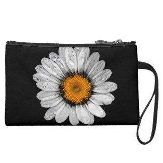 Oxeye Daisy 2 Suede Wristlet Wallet