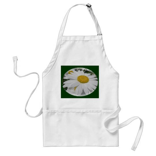 Oxeye Daisy Wildflower Floral Items Adult Apron