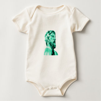 Oxford 1986 snapshot 014 Cyan The MUSEUM Zazzle Gi Baby Bodysuit