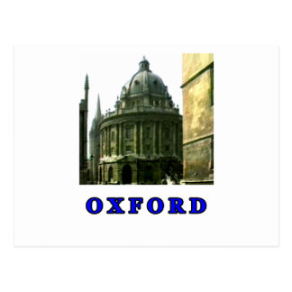 Oxford 1986 snapshot 143 Blue The MUSEUM Zazzle Gi Postcard