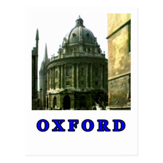 Oxford 1986 snapshot 143 Blue The MUSEUM Zazzle Gi Post Card