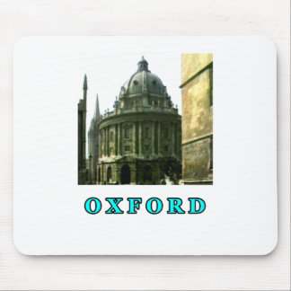 Oxford 1986 snapshot 143 Cyan The MUSEUM Zazzle Gi Mouse Pad