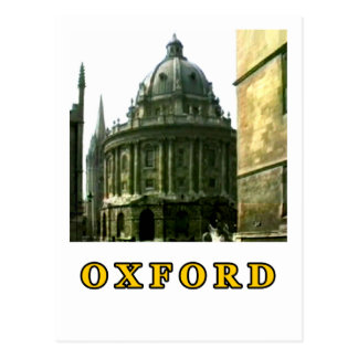 Oxford 1986 snapshot 143 Gold The MUSEUM Zazzle Gi Post Card
