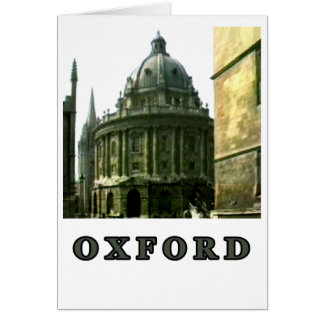 Oxford 1986 snapshot 143 Gray The MUSEUM Zazzle Gi Card