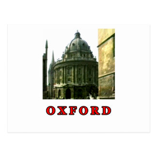 Oxford 1986 snapshot 143 Red The MUSEUM Zazzle Gif Post Card