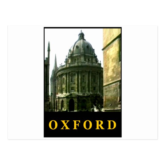 Oxford 1986 snapshot 143 The MUSEUM Zazzle Gifts c Postcard