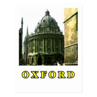Oxford 1986 snapshot 143 Yellow The MUSEUM Zazzle Post Cards