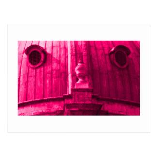 Oxford 1986 snapshot 163 Magenta The MUSEUM Zazzle Postcard