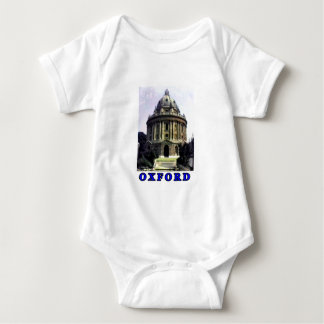 Oxford 1986 snapshot 198 Blue The MUSEUM Zazzle Gi Baby Bodysuit