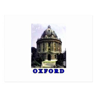 Oxford 1986 snapshot 198 Blue The MUSEUM Zazzle Gi Postcard
