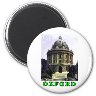 Oxford 1986 snapshot 198 Green The MUSEUM Zazzle G 2 Inch Round Magnet