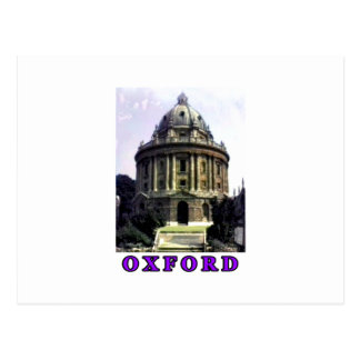 Oxford 1986 snapshot 198 Purple The MUSEUM Zazzle Postcard