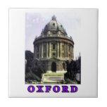Oxford 1986 snapshot 198 Purple The MUSEUM Zazzle Tile