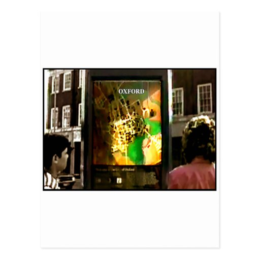 Oxford 1986 Snapshot 1 The MUSEUM Zazzle Gifts c2 Postcard