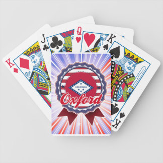Oxford, AR Playing Cards