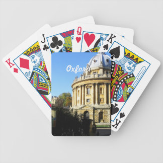 Oxford Architecture Poker Cards