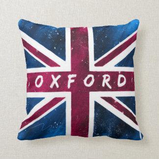 Oxford - bandera británica de Union Jack Cojin