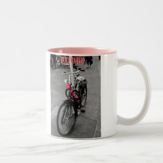 Oxford bicycle Two-Tone coffee mug