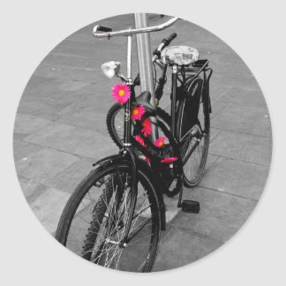 Oxford bike classic round sticker