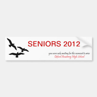 Oxford Blackhawks Senior Bumper Sticker
