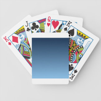 Oxford Blue to Aero Horizontal Gradient Bicycle Playing Cards