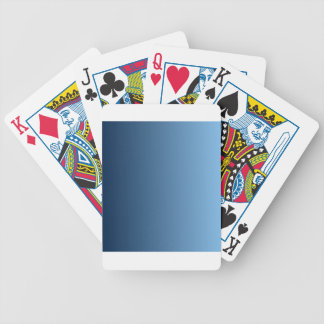 Oxford Blue to Aero Vertical Gradient Deck Of Cards