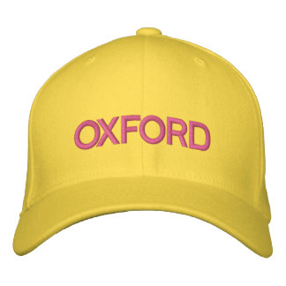 Oxford Cap Embroidered Baseball Caps