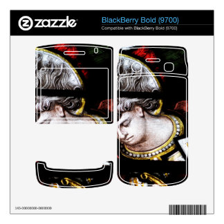 Oxford Cathedral Stained Glass BlackBerry Bold Decal