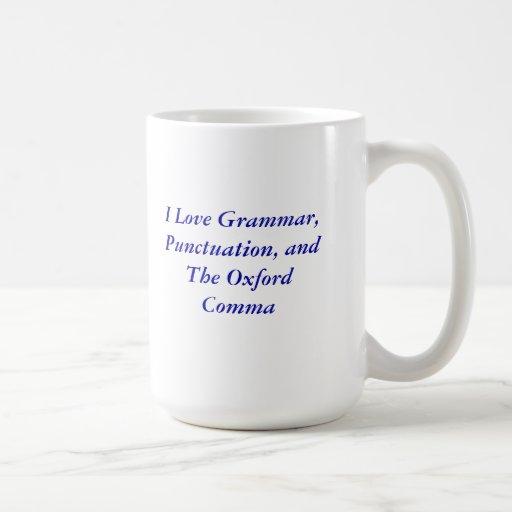 Oxford Comma Mug Zazzle
