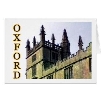 Oxford England 1986 Building Spirals 1 Card