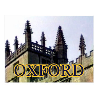Oxford England 1986 Building Spirals 1 Postcard