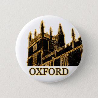 Oxford England 1986 Building Spirals Brown Button