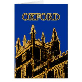 Oxford England 1986 Building Spirals Brown Card
