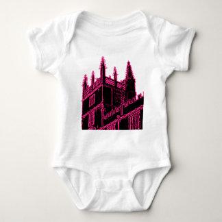 Oxford England 1986 Building Spirals Magenta T-shirt