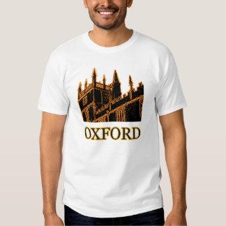 Oxford England 1986 Building Spirals Orange T-Shirt