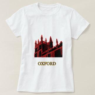 Oxford England 1986 Building Spirals Red T Shirt