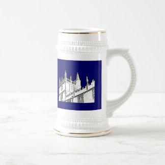 Oxford England 1986 Building Spirals White Mug