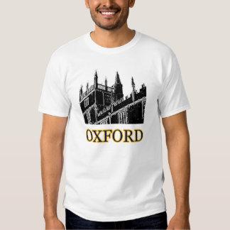 Oxford England Building Spirals Black jGibney T-Shirt