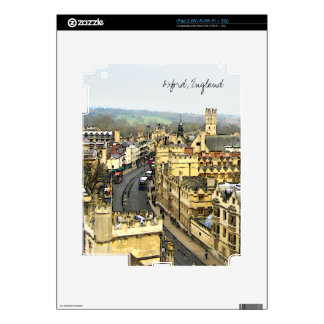 Oxford, England, High St View Decal For iPad 2