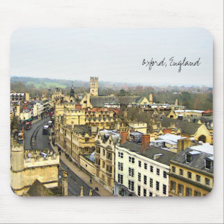 Oxford, England, High St View Mouse Pad